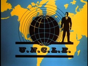 U.N.C.L.E. insignia from a second-season episode