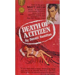A 1963 re-issue of Death Of a Citizen