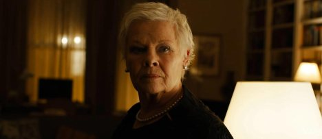 Judi Dench's M, the most prominent mother in the 007 film series.