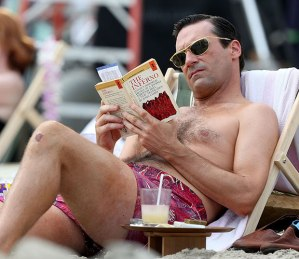 Jon Hamm as Mad Men's Don Draper