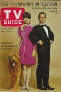 Don Adams and Barbara Feldon grace the cover of TV Guide
