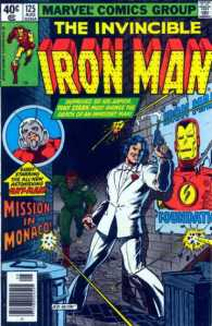 Cover to Iron Man No. 125