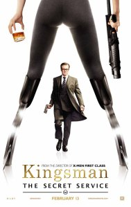 A poster for Kingsman: The Secret Service