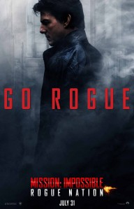 A Mission: Impossible Rogue Nation poster