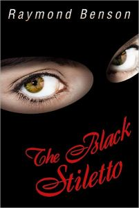Image for The Black Stiletto, a character created by former 007 continuation novel author Raymond Benson