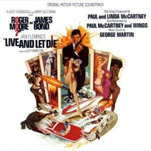 Design for LIve And Let Die's soundtrack album
