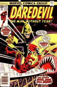 Cover to Daredevil No. 137